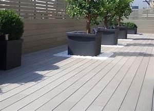 Lame De Bois Pour Terrasse : lame composite pleine pour construire une terrasse en bois silvadec ~ Melissatoandfro.com Idées de Décoration