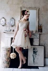 unique vintage short wedding dresses for your inspiration With vintage look wedding dresses
