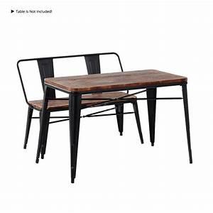 Vintage, Entryway, Bench, Rustic, Metal, Dining, Room, Outdoor, Seat, Industrial, L4c5, 759218937492