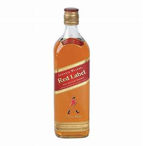 JOHNNIE WALKER Red Label Scotch Whisky (12 x 750ml ...