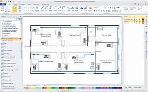 Office Network Floor Plan