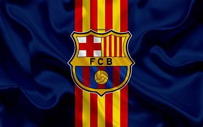 Barcelona Fc 4k Flag Club Football Catalan