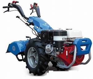 Bcs 738 Two Wheel Tractor Petrol Gx 340  Rotary 66 Cm  Recoil Start  Bcs 738  Two Wheel Tractor