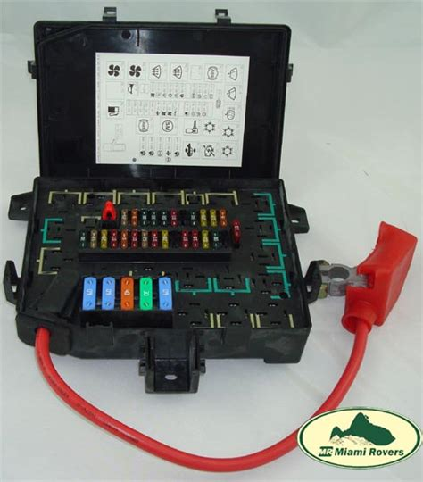05 Range Rover Fuse Box Location by Land Rover Fuse Box Relay Fusebox Range 97 99 P38 Amr6476