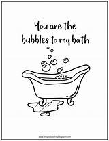 Bathtub Coloring Printable Pages Getcolorings Getdrawings sketch template