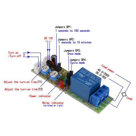 dc 12v infinite loop cycle timing timer delay relay on module 15min te678 4894663153021 ebay