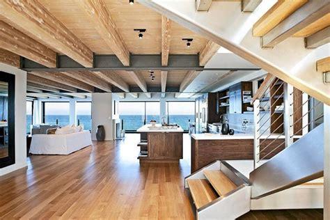 Seaside Home Interiors Malibu Beachfront Residence Mimicking The Clean Lines Of An Liner Decor Advisor