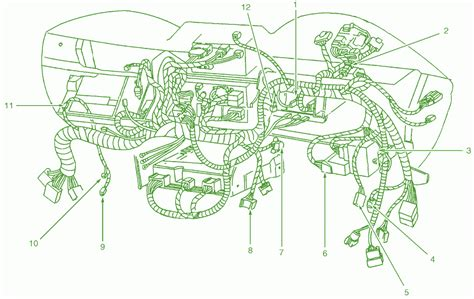 Ford Mustang Dash Wiring Diagram Harness Connector