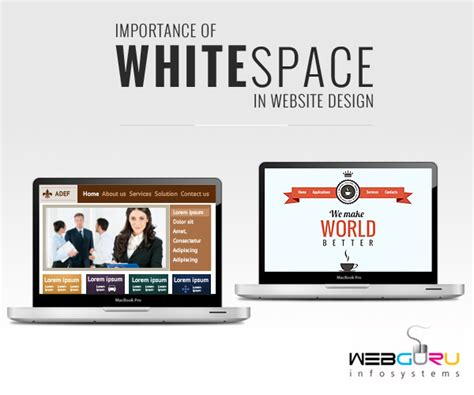 how important is white space in website design