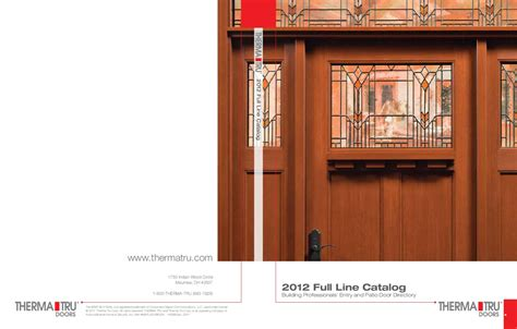 ThermaTru catalog 2011 by Danvoy Group LLC/Glenview Doors ...