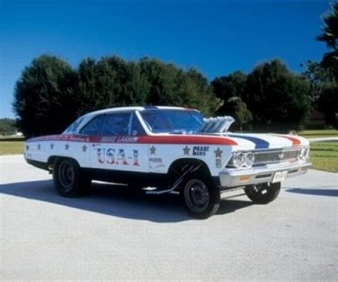 1966 Chevelle Super Stock Drag Racing Cars