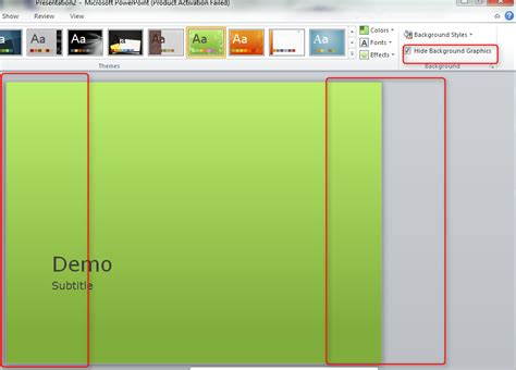 How To Edit Background Graphics In Powerpoint Replacing Background Graphics Of A Powerpoint Theme