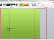 edit background graphics powerpoint 2016