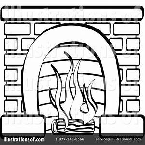Fireplace, Clipart