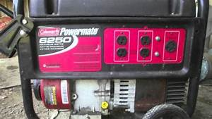 Best Coleman Powermate 6250 Generator With 5000 Running