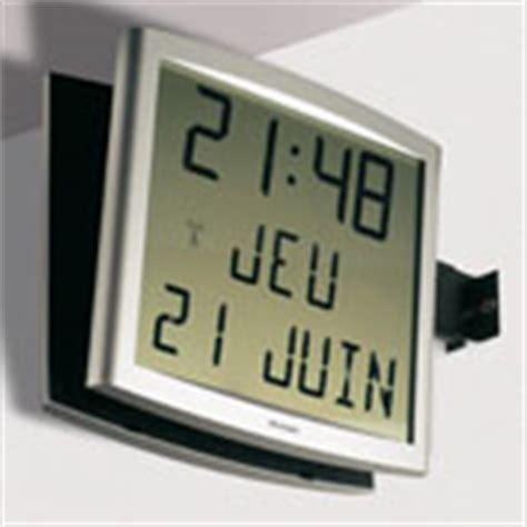 horloges cristalys date pointeuse horodateur gestion du temps horlogerie sonnerie de cours