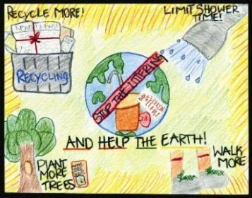 sponsors earth day poster contest  katheryn krupa