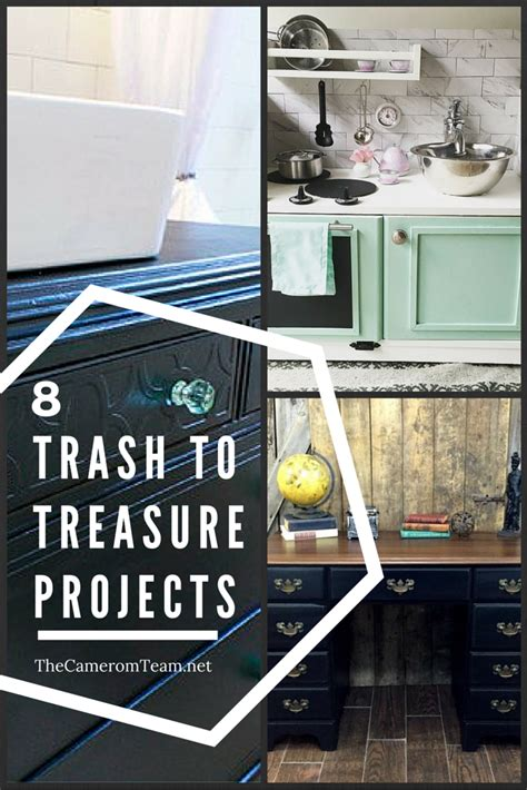 trash  treasure projects dyi crafts repurposed