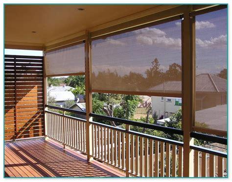 outdoor blinds  deck