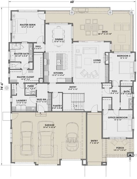 House Plan 425 00013 Craftsman Plan: 2 459 Square Feet