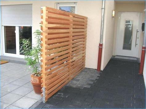sichtschutzzaun selber bauen zaun aus holz wpc gunstig