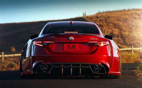 This Alfa Romeo Giulia Quadrifoglio Looks Like It Ate