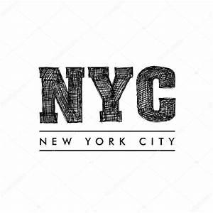 New York Schriftzug : new york city schriftzug new york city stockvektor 121494660 ~ Frokenaadalensverden.com Haus und Dekorationen