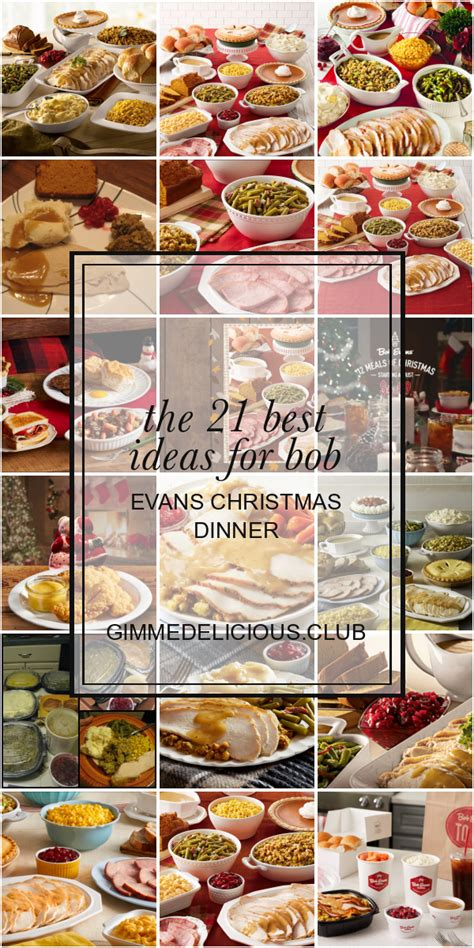 However, you can still contrive memorable dinner table experiences by making full use of the available bob evans coupons that ensure ambrosial savings on toothsome family latest sale. The 21 Best Ideas for Bob Evans Christmas Dinner - Best ...