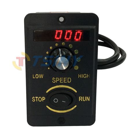 Bench Grinder Variable Speed by 40w Digital Display 220v Electrical Speed Controller Unit