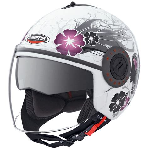 ladies motorcycle helmet caberg riviera v3 diva ladies womens motorcycle helmet ebay