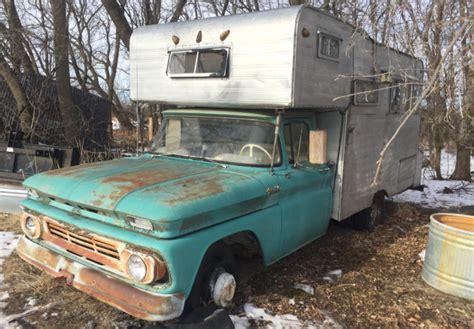 memory maker  chevrolet pickup camper
