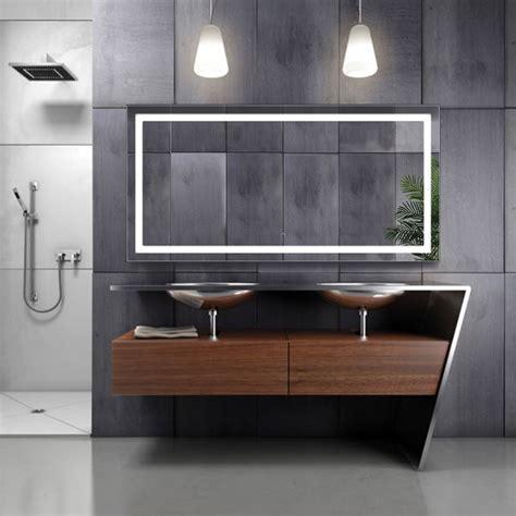 large      led bathroom mirror lighted vanity