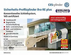 Schließzylinder Beidseitig Schließbar : gleichschliessende ces 810 re plus profilzylinder knaufzylinder halbzylinder ebay ~ Watch28wear.com Haus und Dekorationen