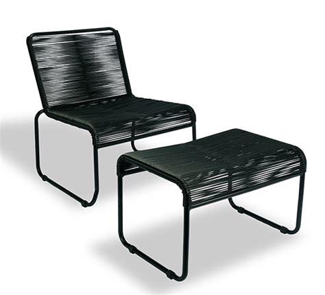 chaise avec repose pied beautiful salon de jardin cancun noir pictures awesome interior home satellite delight us