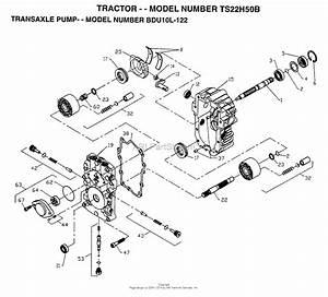 Ayp  Electrolux Ts22h50b  1996  Parts Diagram For Transaxle Pump