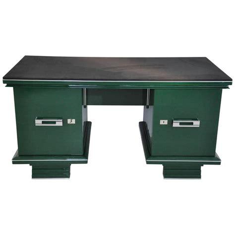 art desks for sale art deco desk in jaguar racing green for sale at 1stdibs