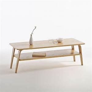 Table Basse Double Plateau Jimi Chne La Redoute