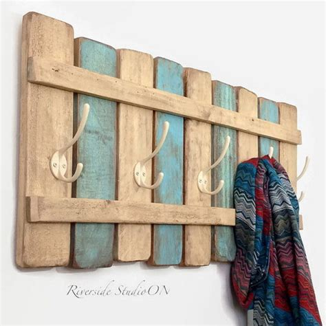 shabby chic coat rack 30 diy ideas tutorials to get shabby chic style