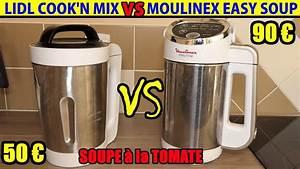 Blender Chauffant Recette : lidl blender chauffant cook 39 n mix vs moulinex easy soup comparatif soupiere soupe tomate recette ~ Louise-bijoux.com Idées de Décoration