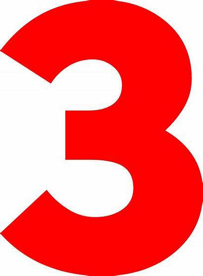 Number Three Clipart Clip Clker Svg Clipground