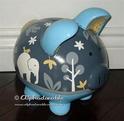 6073 porcelain piggy bank 17 best images about piggy bank designs on