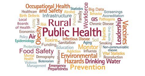 rural public health agencies introduction rural health