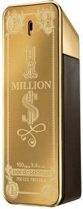 paco rabanne 1 million dollar edition eau de toilette for 100ml price review and buy in