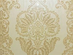 Download Cream Gold Damask Wallpaper Gallery