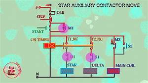 Star Delta Easy Diagram