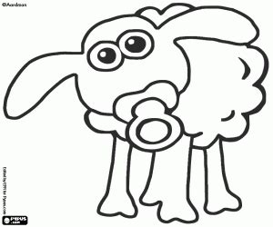 Shaun The Sheep Coloring Pages Elitflat
