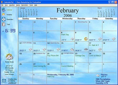 calendarpal desktop calendar    windows