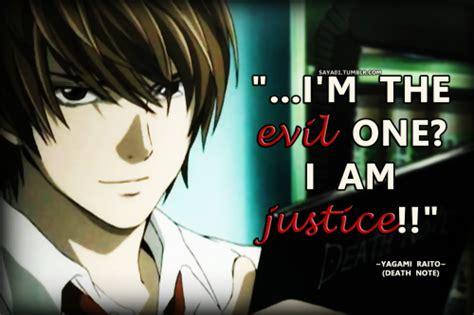 charlotte anime zitate justice death note quotes quotesgram