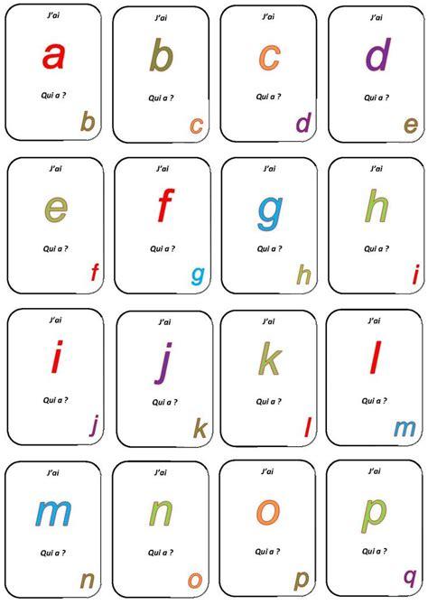 jeu de cuisine ecole de jeu quot j 39 ai qui a quot la maternelle de camille alphabet