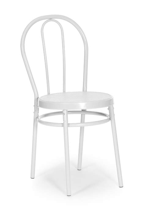 chaise de bistrot blanche chaise bistrot blanche
